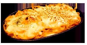 チーズ焼きナポリタン
